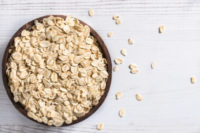 dried rolled oats