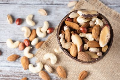 healthy nuts almond cashew