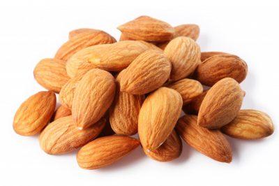 pile-almonds