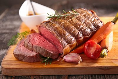 eat roast beef together with Progentra supplements