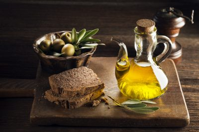 whole grain bread with olive oil for your penile health