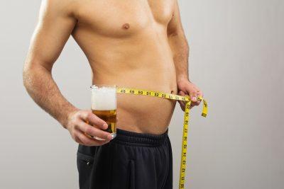 reducing beer belly